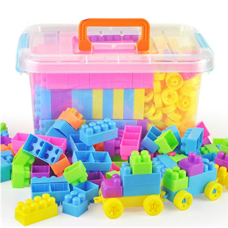 Big Building Blocks Paradise Self Locking Bricks Compatible With Brand Block Toys Children Educational Learning Toys