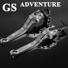 CNC Aluminum Motorbike Levers GS ADVENTURE Motorcycle Brake Clutch for BMW F800GS R1200GS LC