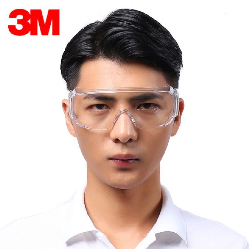 3M 1611HC Anti-shock Anti-scratch Protective Glasses Safety UV Protection Glasses Work Factory Painting Flat light Vent Goggles 3M 1611HC Anti-shock Anti-scratch Protective Glasses Safety UV Protection Glasses Work Factory Painting Flat light Vent Goggles
