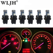 WLJH 6x Canbus PC74 T5 LED Light Socket 74 73 2721 Lamp Bulb Car Dashboard Instrument Panel Gauges Light for Infiniti Nissan(China)