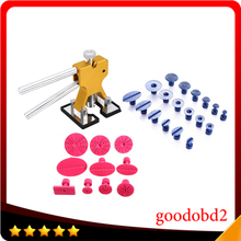 PDR Tools Dent Removal Paintless Dent Repair Tools PDR Dent Puller Dent Lifter Glue Tabs with 28pc Glue Tabs Hand Tool Set whdz pdr tools paintless dent repair tools dent lifter dent puller tabs golden dent lifter hand tool set pdr toolkit ferramentas