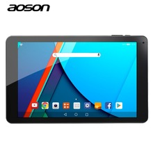 New Aoson R101 Classic Black 10.1 inch Android 6.0 Tablets PC 16GB ROM 2GB RAM MTK 8163 Quad Core 800*1280 IPS 5000 mAh WIFI GPS