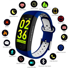 Q6S Smart Bracelet  Heart Rate Monitor Waterproof  Smart Band Fitness Tracker Blood Pressure Smart Watch VS mi band 3 fitness tracker smart wristband heart rate monitor smart band g16 activity smartwatch blood pressure ip67 bracelet vs mi band 3