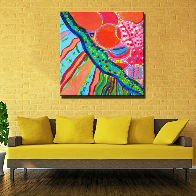 home decor most famous modern abstract art wall pictures printed ...
