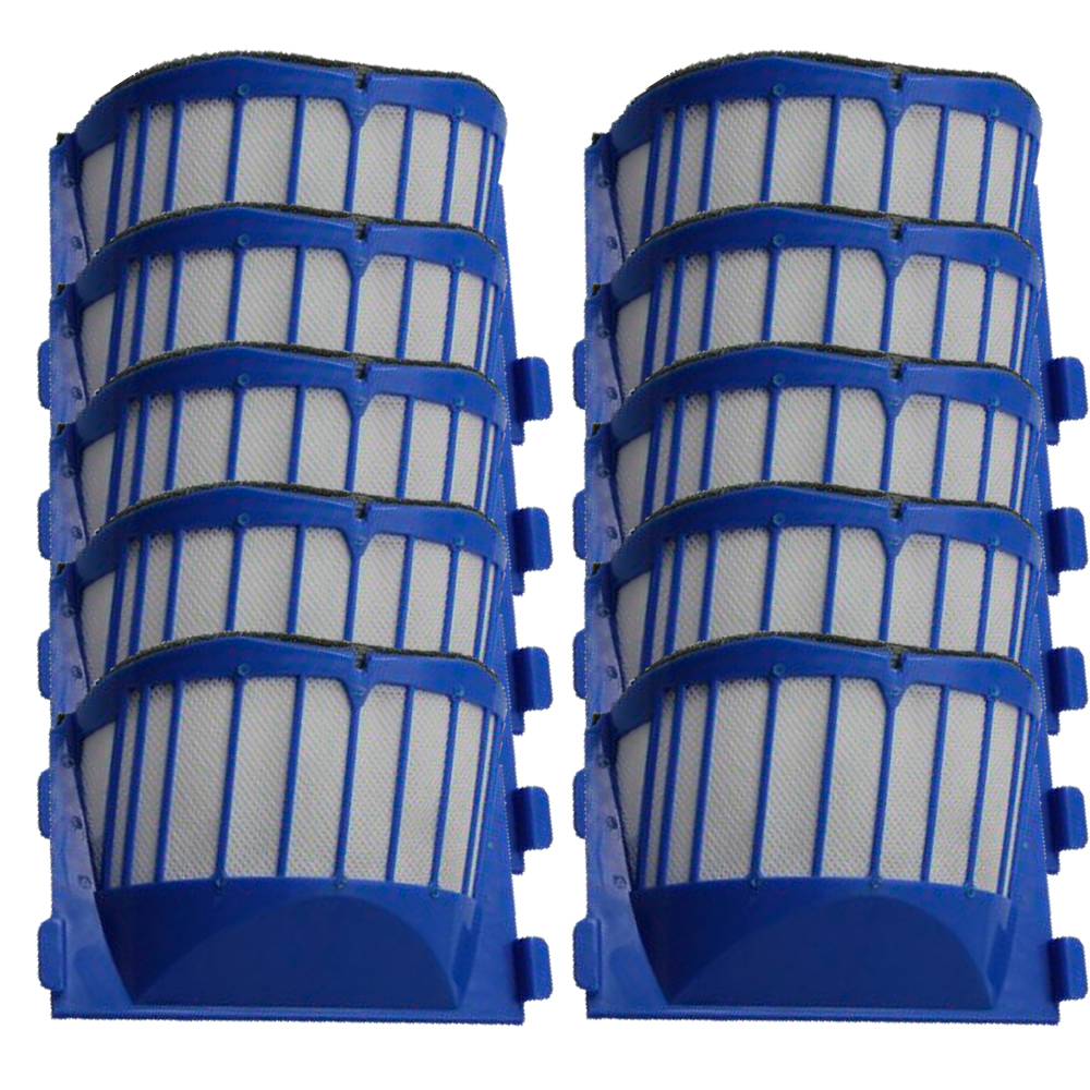 10 Piece Replacement Filter for iRobot Roomba AeroVac 550 551 Blue Filter битоков арт блок z 551