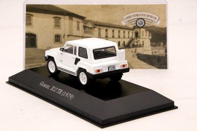 143 Gurgel X12 TR 1979 voiture moulé sous pression modèles Collection limitée blanc IXO cadeaux