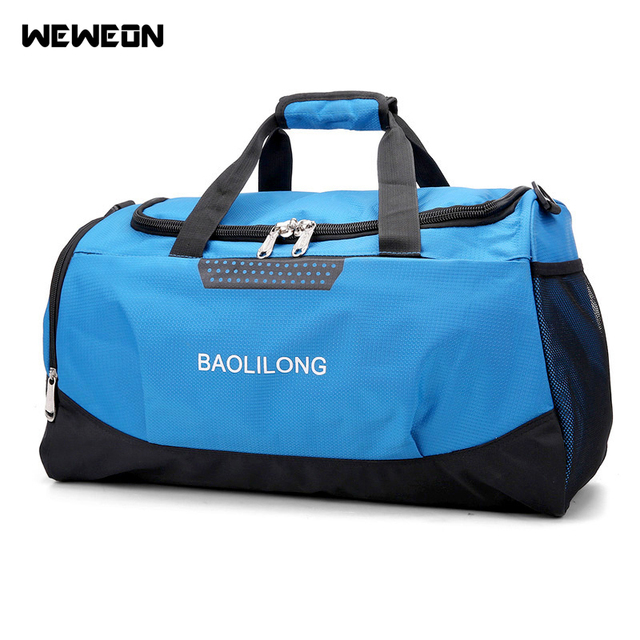 bcbbf13c7b 2017 New Professional Single Shoulder Gym Bag Fitness Handbag Big Capacity  Sports Bag Athletic Training Bag