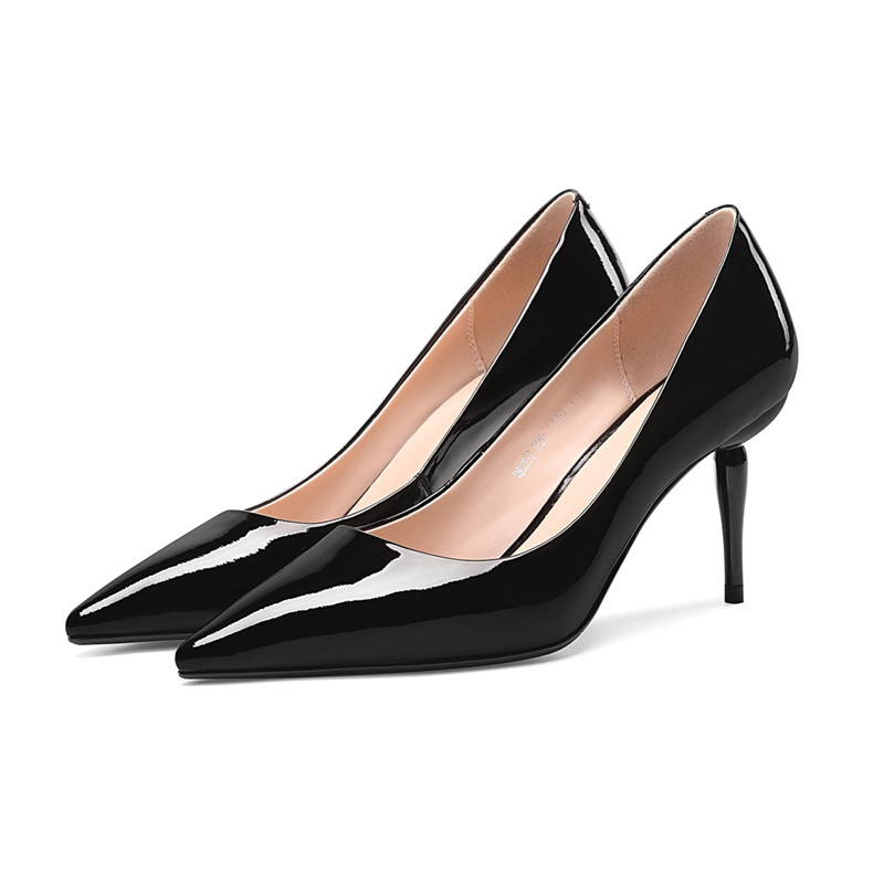 2019 new spring pointed shallow mouth low shoes stiletto high heel womens shoes black ljj 0409022019 new spring pointed shallow mouth low shoes stiletto high heel womens shoes black ljj 040902
