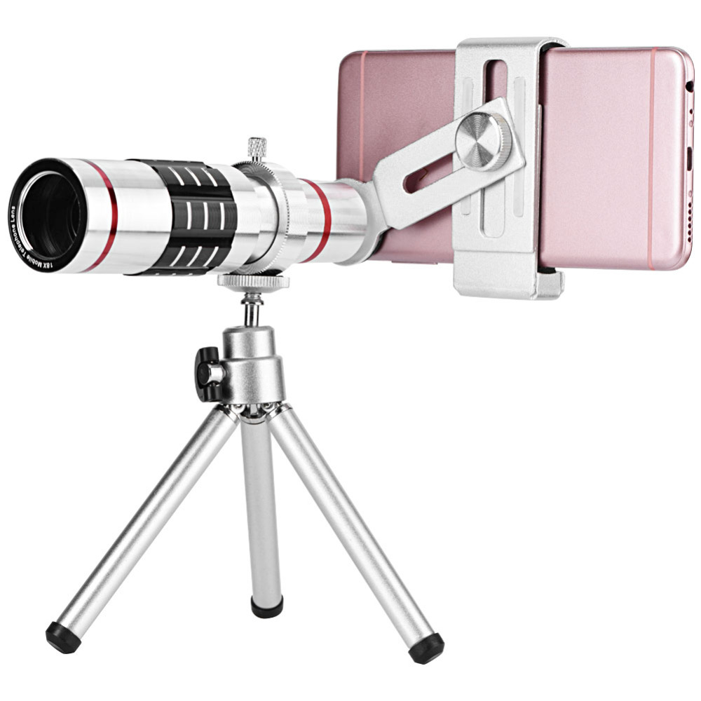 18X Optical Zoom Telescope Mobile Phone Lens for Xiaomi iPhone Samsung Smartphon