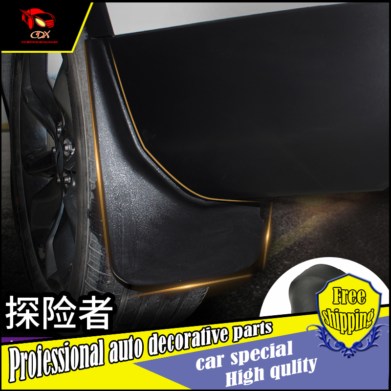 ФОТО CCESSORIES FIT FOR Ford Explorer 2016 MUDFLAPS MUD FLAP SPLASH GUARD MUDGUARDS FRONT REAR FENDER car dashboard car-styling
