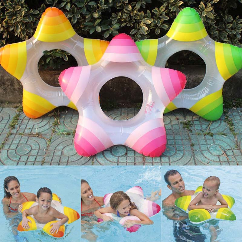 Five-pointed Star Summer Swim Ring Float Swimming Pool Floating For Children Kids B2Cshop