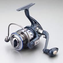 2017 Gapless Spinning Fishing Reel 13BB JF1000-7000 5.5:1 Metal Carp Fishing Wheel Spinning Reel For  Fishing New fishing vessel