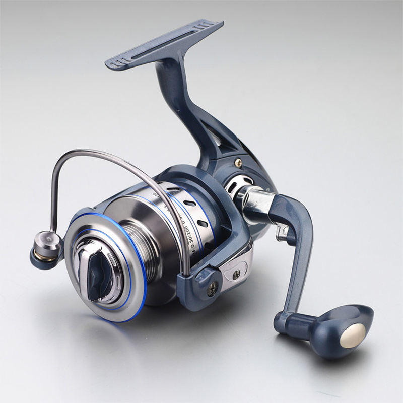 2018 Gapless Spinning Fishing Reel 13BB JF1000-7000 5.5: 1 Metall Carp Fishing Wheel Spinnrulle För Fiske Nya fiskefartyg