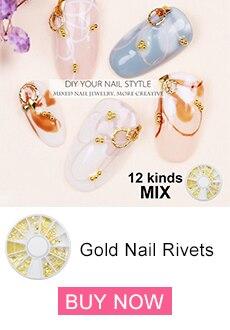 Gold Nail Rivets