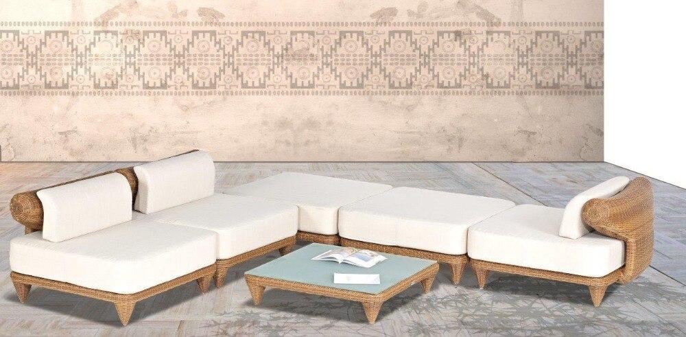 2017 new design sofa furniture mateus outdoor wicker 6 pc for New wooden sofa set designs