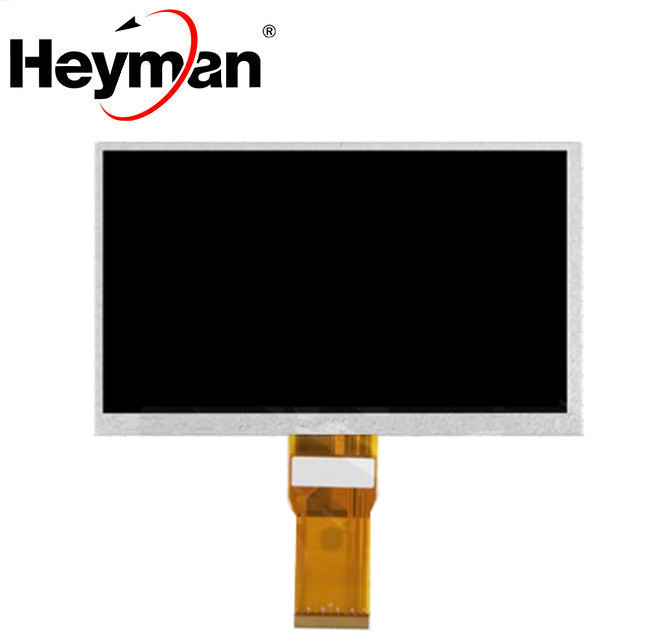 Heyman 7''size <font><b>LCD</b></font> display screen(1024*600),(165*100 mm),65 mm flat cable,<font><b>50</b></font> <font><b>pin</b></font>)for Tablet PC Lattepanda Raspberry Pi Banana Pi image