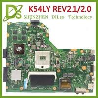 KEFU K54LY Per ASUS K54LY X54H K54HR X84HAK54C K54laptop scheda madre K54LY mainboard HD6470M 1GB rev2.1/2.0 scheda madre di Prova|Schede madre|Computer e ufficio -