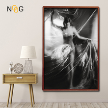 NOOG Sexy Naked Women Poster Abstract Printing by Numbers Nordic Nude Women Wall Art Canvas Printing For Living Room Decorative цены онлайн