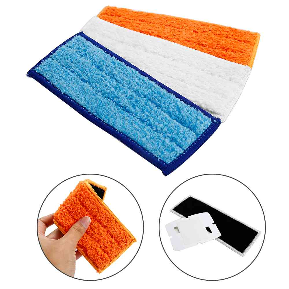 10pcs//set Washable Wet Mopping Pads Clean Floor For IRobot Braava Jet 240 241