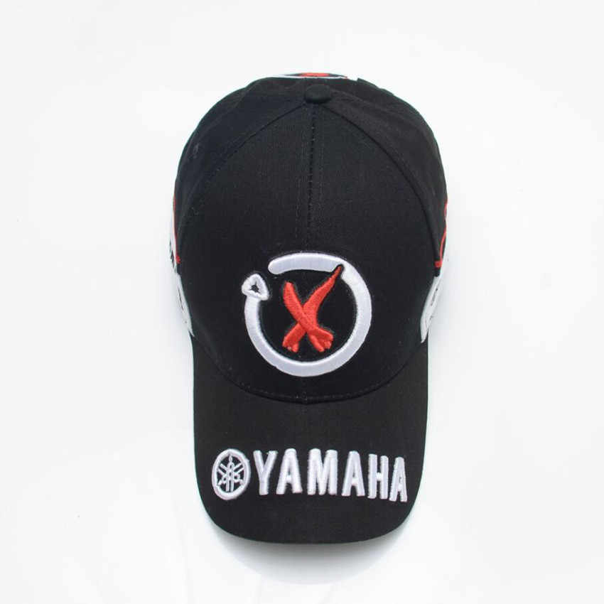 a8c435c110a8d6 ... New Black Red F1 racing cap Car Motocycle Racing MOTO GP VR 99 rossi  Embroidery hiphop ...