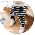 2017 New Winter Children Trousers Baby Clothes Girls&Boys Stripes Casual Pants Toddler Kids Thicken Warm Underwear Pant