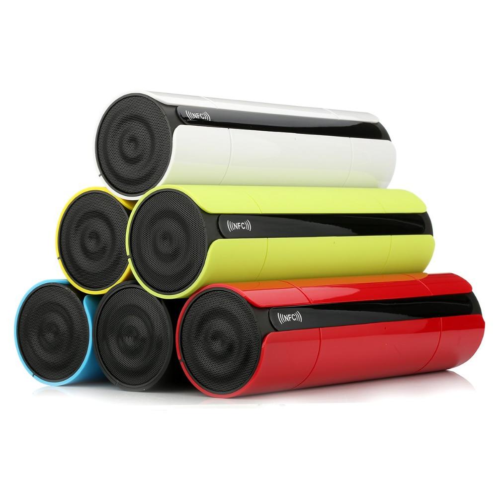 Altavoz Bluetooth portátil inalámbrico NFC FM HIFI altavoces estéreo Super Bass Caixa Se Som caja de sonido para teléfono