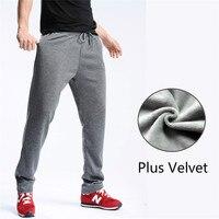 Fanceey Brand Winter Jogger Sports Running Pants Men S Slim Fit Basic Leggings Plus Velvet