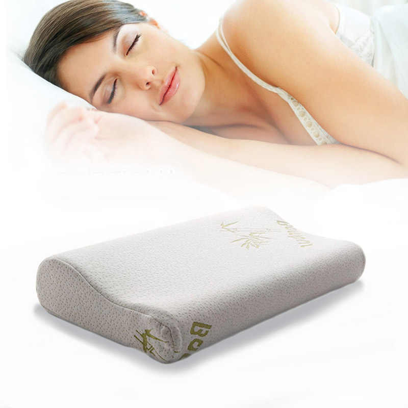 Comfortable Slow Rebound Memory Pillow Bamboo Fiber Sleep