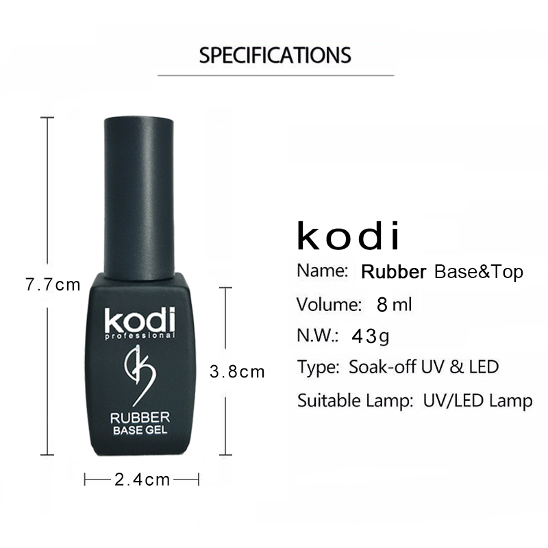 kodi uv gel nail polish base top gel nagellak primer esmalte gellak ...