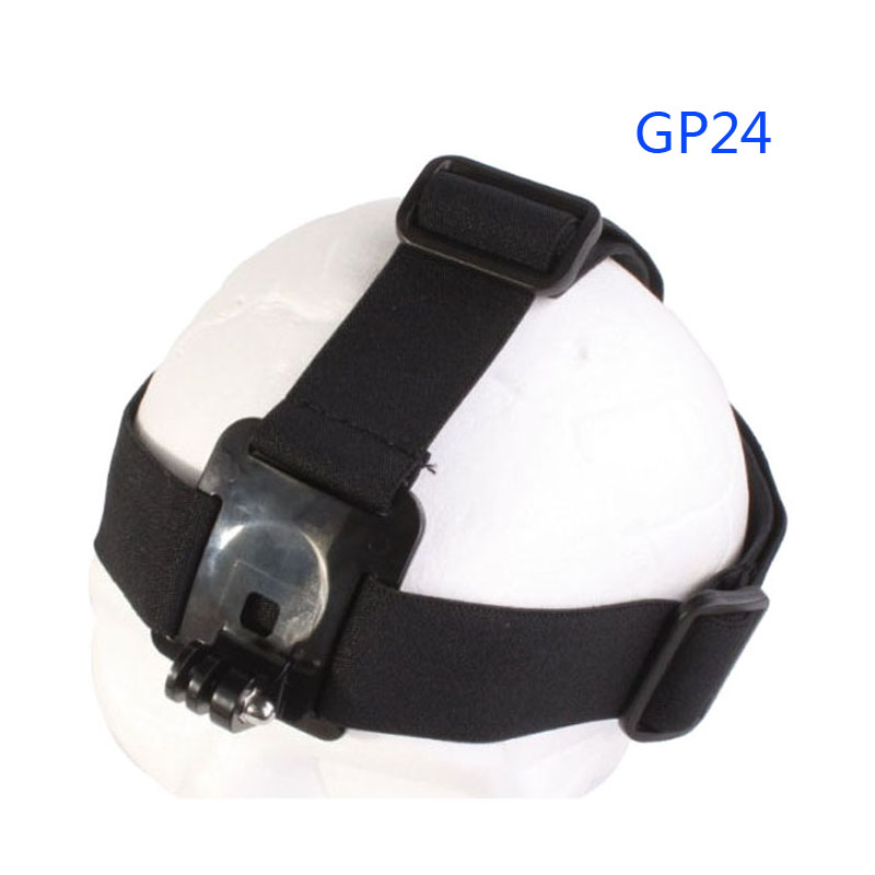 Free Shipping!!New Adjustable Camera Head Strap Mount For GoPro Hero GITUP SJCAM Xiaomi YI Action Camera