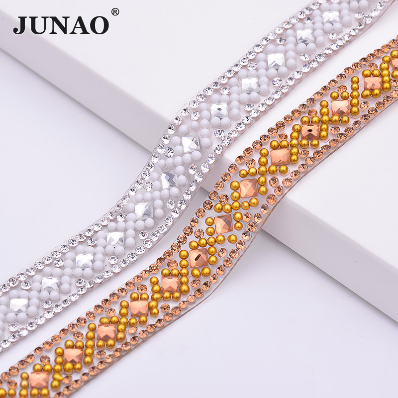 Detail Feedback Questions about JUNAO 5yard 14mm Clear Crystal Chain ... 2362d506c500