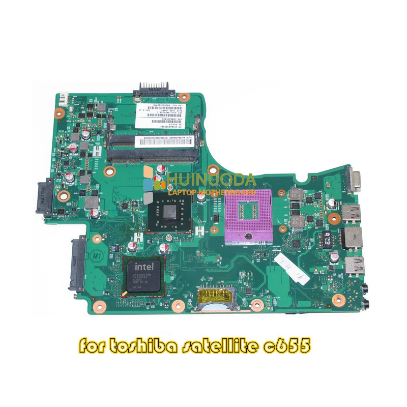 NOKOTION PN 1310A2355302 V000225020 For toshiba satellite C655 laptop motherboard GL40 DDR3 6050A2355301-MB-A03 nokotion v000185020 for toshiba satellite l505 laptop motherboard gm45 ddr2 6050a2250301 mb a03