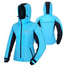 BENKIA Women's Motorcycle Racing Suit Spring Summer Coat Motorcycle Jackets Female Riding Wind-coat Windbreaker Removable Hood