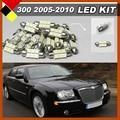 Carro Lâmpadas Branco 12 V de Alta Potência LED Kit Pacote Interior Para 2005-2010 Chrysler 300C 300 Mapa Dome Matrícula Golve Box Light