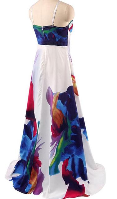 New 2017 plus size summer autumn Women Dress ukraine Casual sexy wide boat neck beach Dresses maxi Vestidos