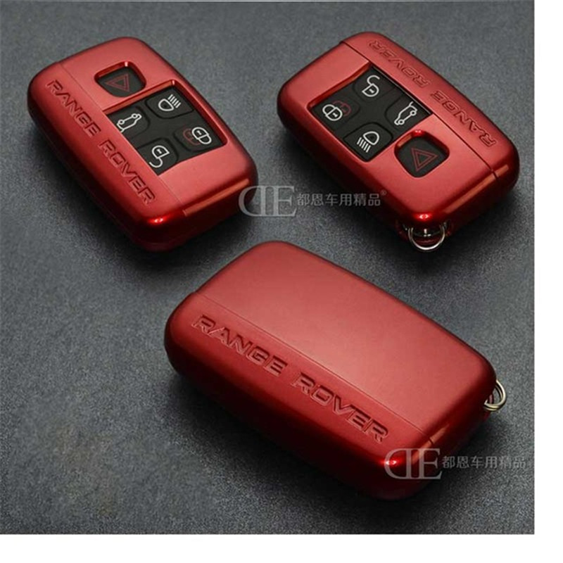 Abs Car Case Key Cover For Land Rover Range Rover Freelander Evoque Discovery Keychain Case Wallet Accessories Colors Key Rings коврики в салон land rover range rover evoque 2011