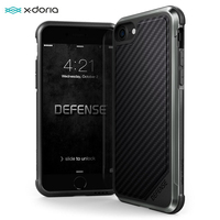 X-Doria 국방 럭스 전화 케이스 아이폰 7 8 플러스 군사 학년 드롭 보호 알루미늄 케이스 아이폰 7 8 플러스 Coque 커버