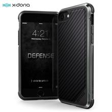 X ドリア防衛ルクス電話ケース iphone 7 8 プラス軍事グレードの保護アルミケース iphone 7 8 プラス coque カバー