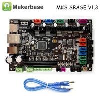 Original 3D Printer Parts Controller Board MKS SBASE V1.3 32 bit Arm platform open source Smoothieboard compatible Smoothieware