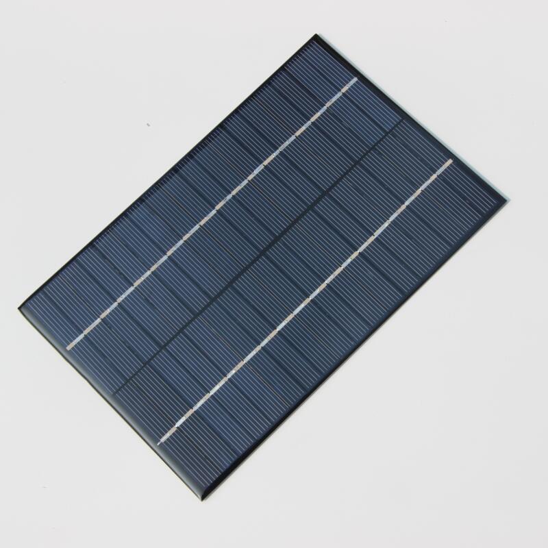 BUHESHUI 4.2W18V Policristalino da Célula Solar DIY