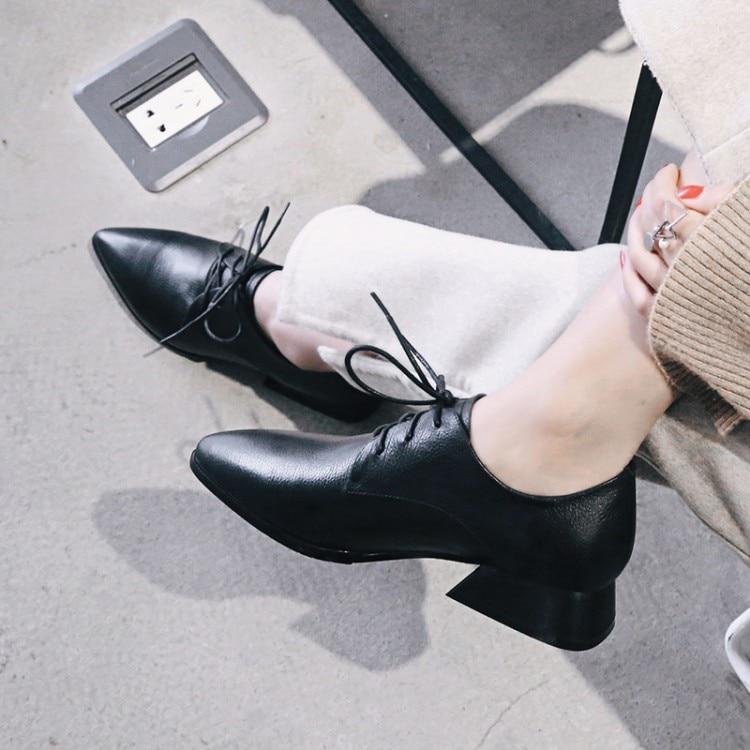 Nueva Bajo Mujer Pie Dedo Señoras 34 Moda Puntiagudo Negro Zapatos Tacones {zorssar} 2018 Tamaño Tacón 42 De Del marrón Gran 0w4qgt5nxB