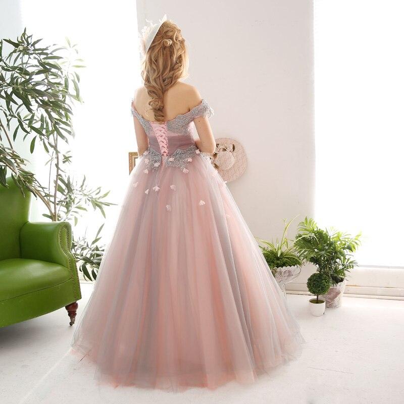 Excelente Rosa Vestidos De Fiesta Hinchados Ornamento - Ideas de ...