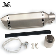 Motorcycle Exhaust pipe Muffler Escape DB-killer 36MM-51MM FOR DUCATI GT 1000 M900/M1000 MS4/MS4R MTS1000DS TS1100/S motorcycle exhaust pipe muffler escape db killer 36mm 51mm for ducati st2 st4 s abs 748 750ss 800ss 900ss 1000ss 996 998 1098