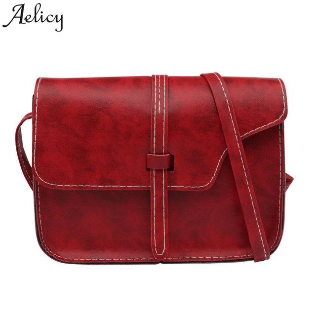 d0fa7189157b Aelicy ladies shoulder bags clutch bag female messenger crossbody bags  nubuck leather messenger bag women vintage bolsa feminina