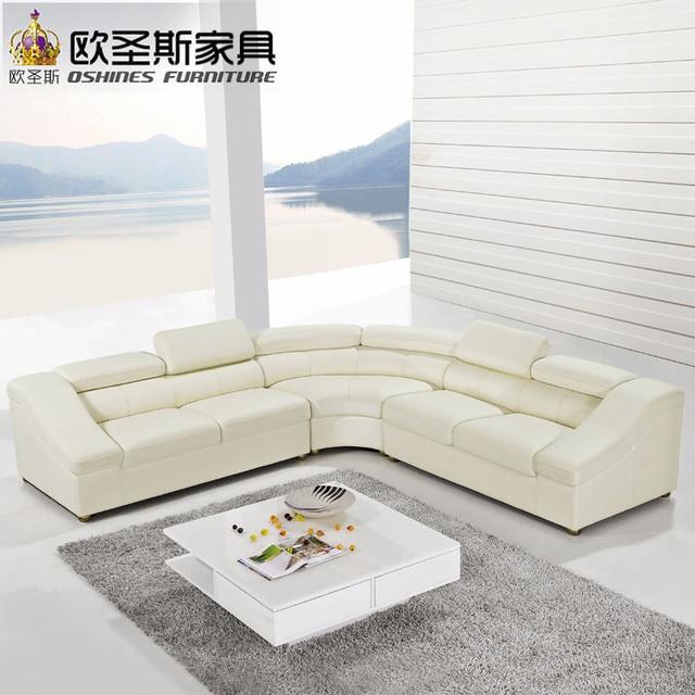 Halbkreis Halbmond Ledercouchgarnitur, Moderne Möbel, Neues Modell Sofa  Setzt, Wohnzimmer Möbel Set OCS