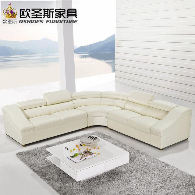 Entzuckend Halbkreis Halbmond Ledercouchgarnitur, Moderne Möbel, Neues Modell Sofa  Setzt, Wohnzimmer Möbel Set OCS 628