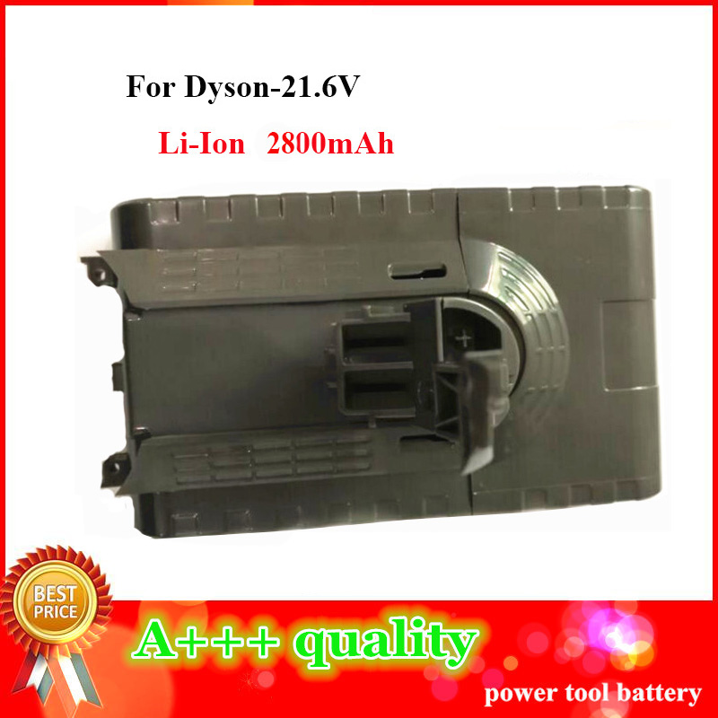 High Quality Brand new  Li-Ion 21.6V 2800MAh Replacement Vacuum cleaner battery for Dyson V8 2016 brand new original power tool battery fast chargers for ryobi 7 2v 20v ni cd li ion battery high quality