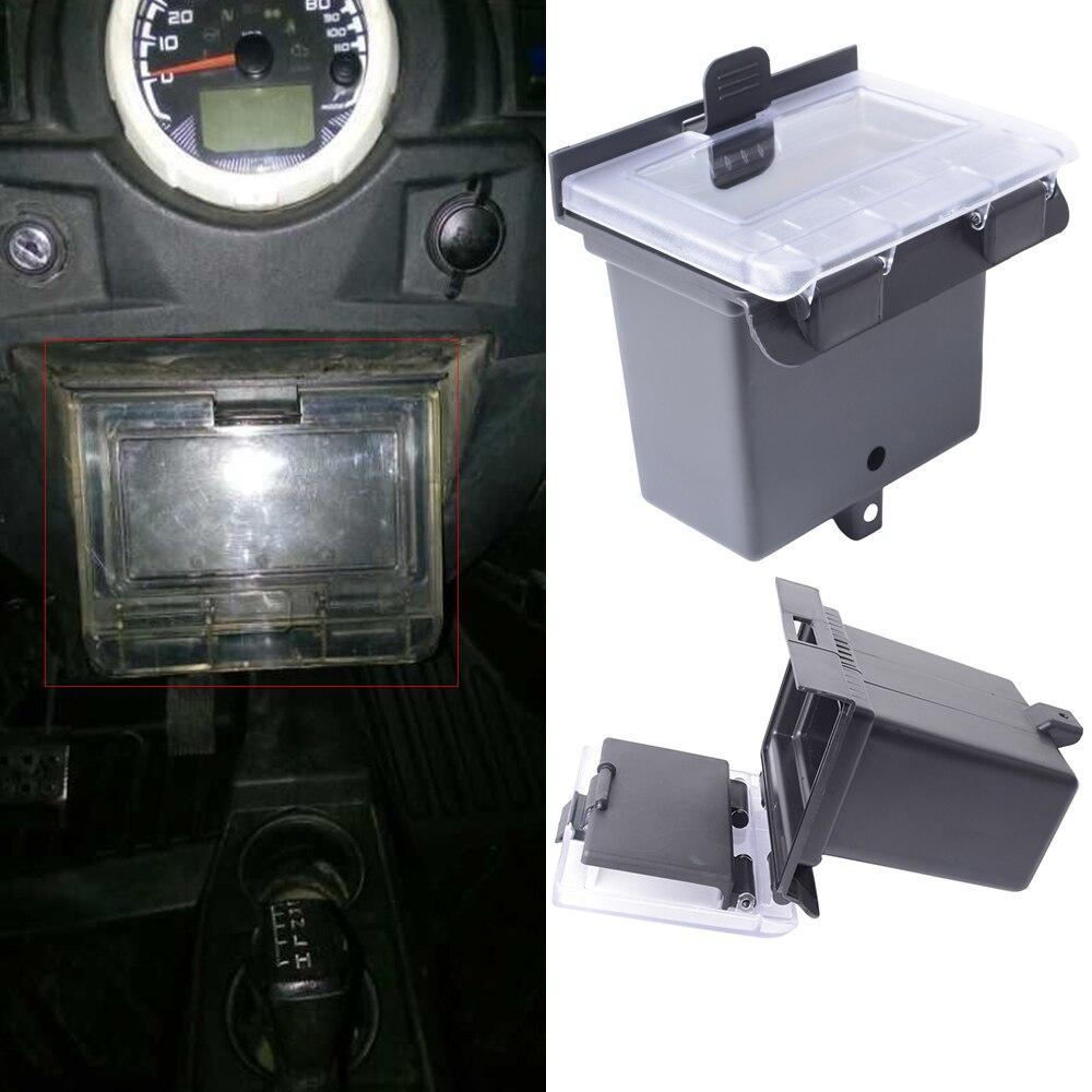 Black Dash Box Center Compartment for Polaris RZR 900 S 2015 RZR XP 1000 2014 RZR