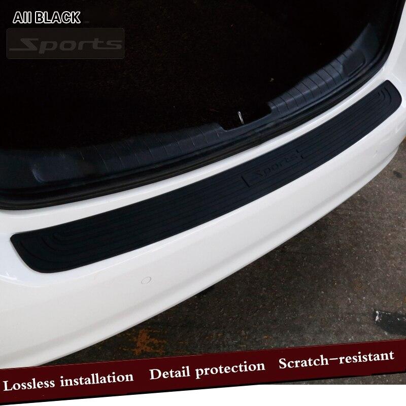 Car Trunk Door Crash Protection Strip Car Styling Scratch Protection Strip For SUZUKI vitara swift sx4 jimny grand vitara 2016