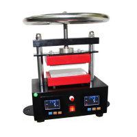 Manual Press Rosin Machine 6*12CM Heat Transfer Machine Small Upper And Lower Plate Heating Rosin Press CK220